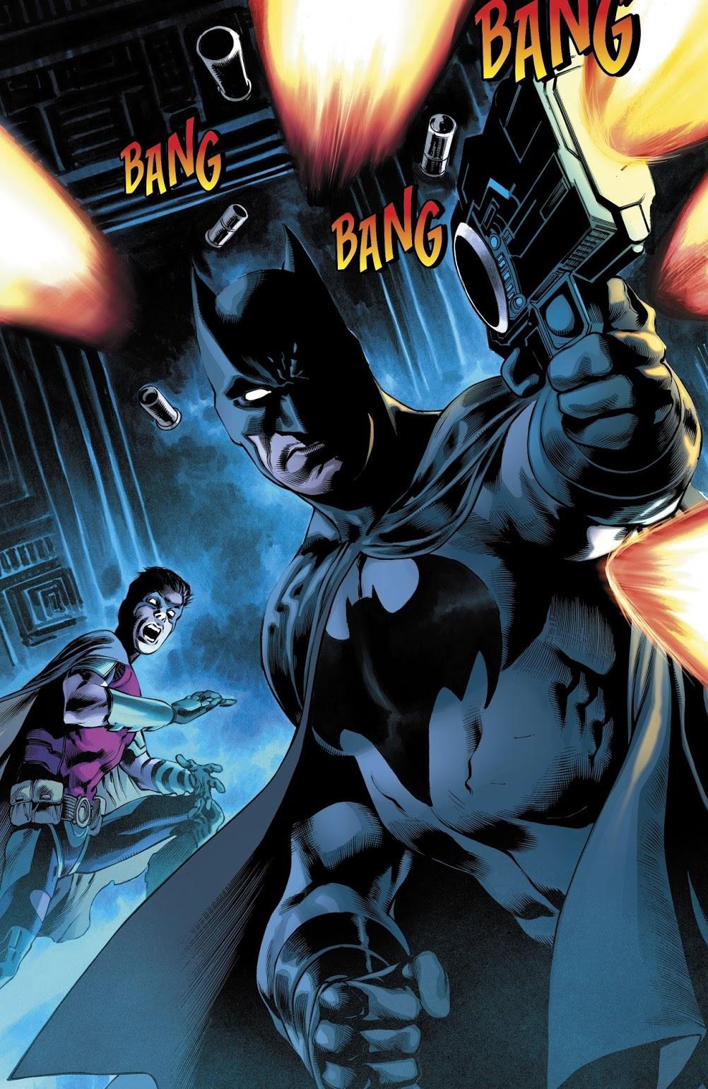 Бэтмен будущего, данетот: как два Тима Дрейка встретились настраницах комикса DC. - Изображение 10