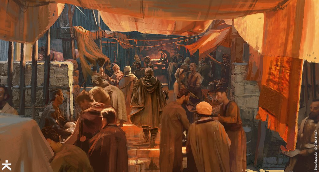 Взгляните напотрясающие концепт-арты 7 сезона «Игры престолов». - Изображение 8