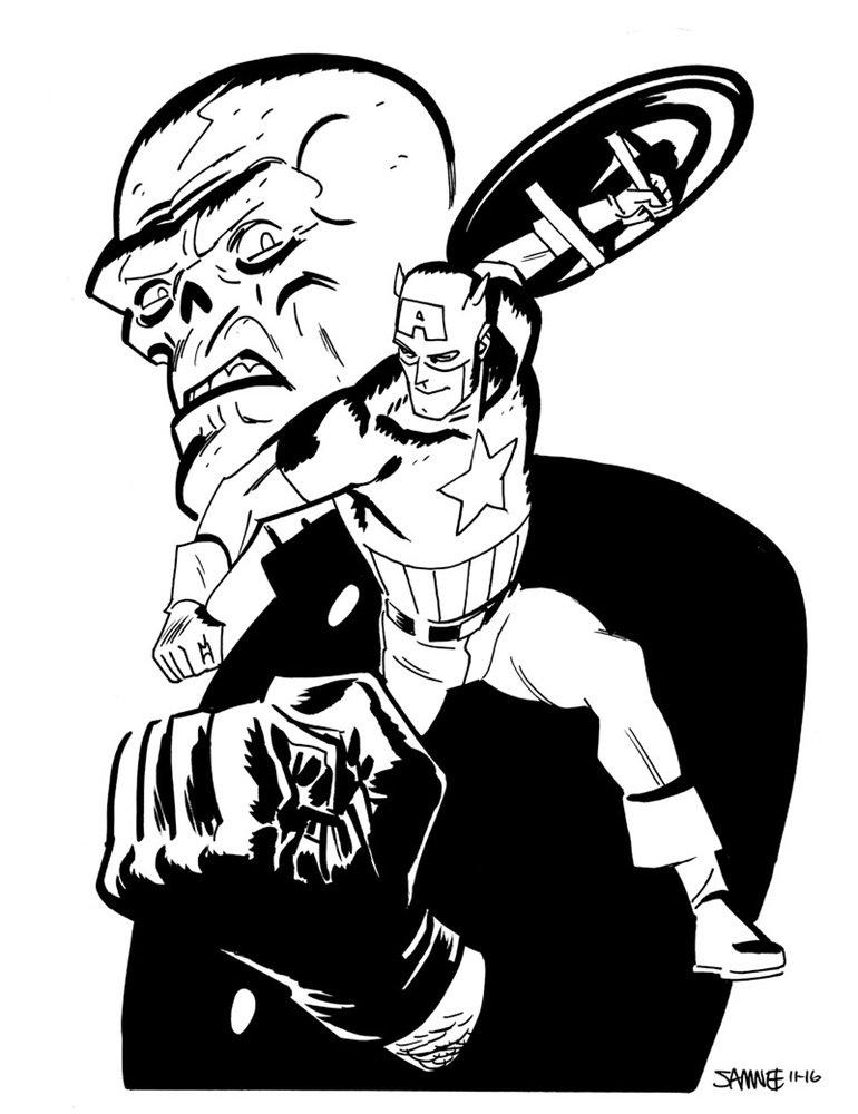 Супергерои Marvel и DC в рисунке Криса Сомни | Канобу - Изображение 8817