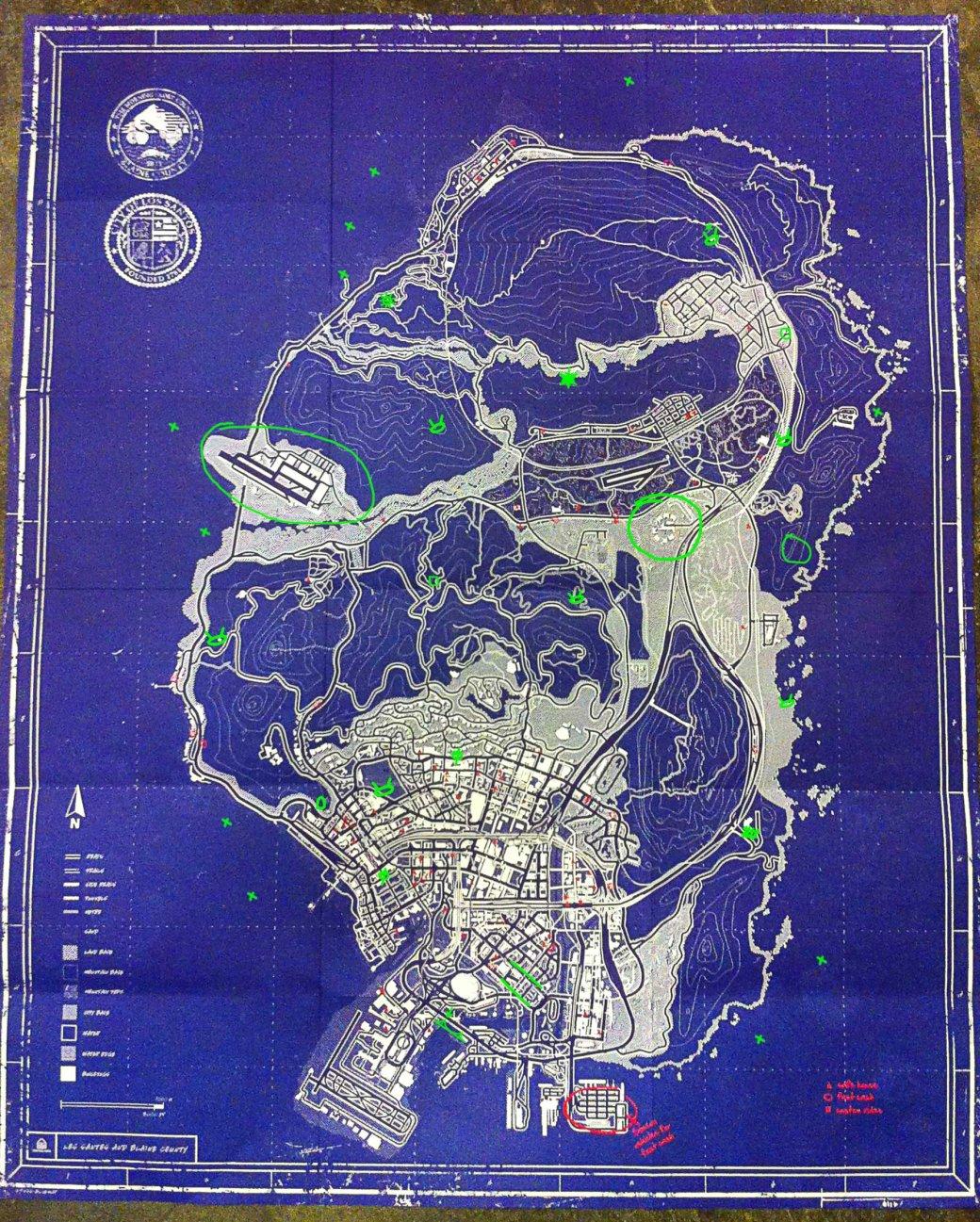 Все секреты карты Grand Theft Auto V | Канобу - Изображение 2