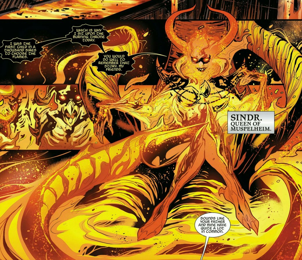 Мифология скандинавов вкомиксах Marvel— отТора иего окружения доисторий вроде War ofthe Realms | Канобу - Изображение 8