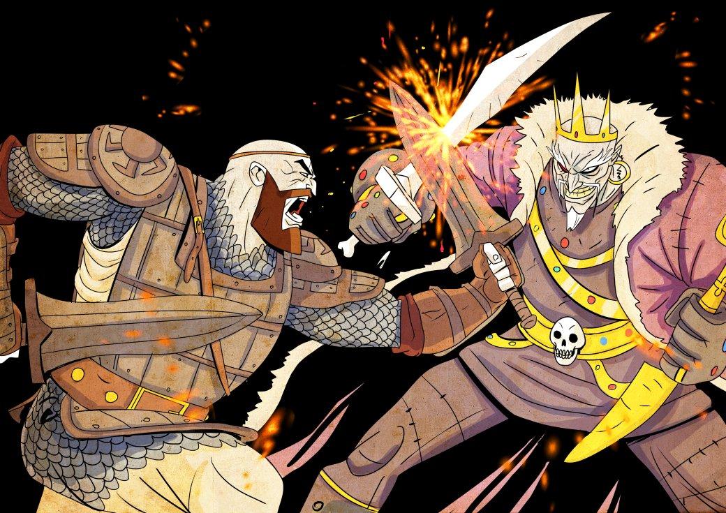 Кратос vsБаба-яга! Какбы выглядела God ofWar вславянской мифологии. - Изображение 13