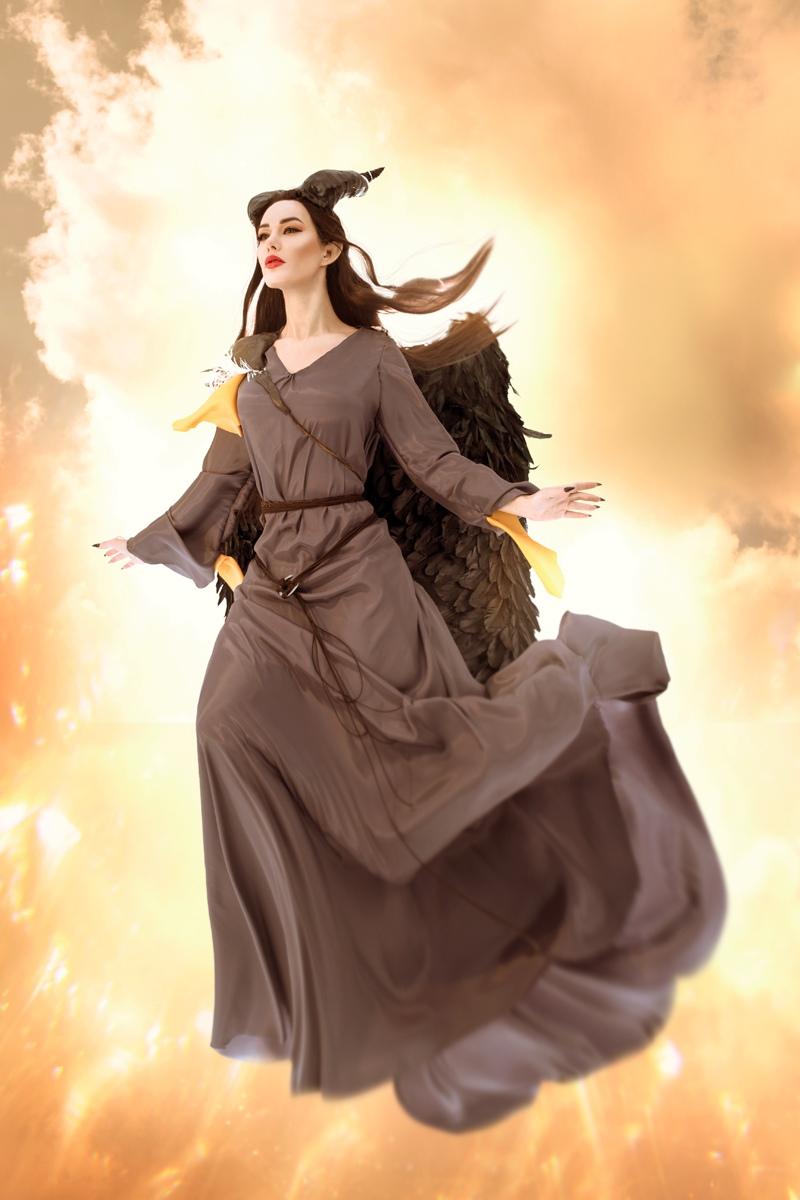 Очаровательная Малефисента в потрясающем косплее от Марины Ханны | Канобу - Изображение 4700