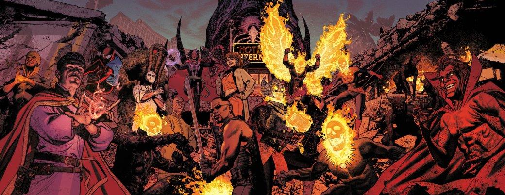 Damnation— почему из-за ошибки Доктора Стрэнджа демоны захватили Лас-Вегас. - Изображение 1