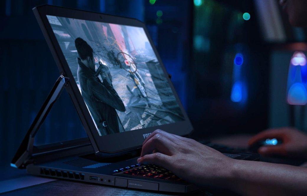 Геймерский ноутбук-трансформер Acer Predator Triton 900 вышел в России по цене 369 990 рублей | Канобу - Изображение 0