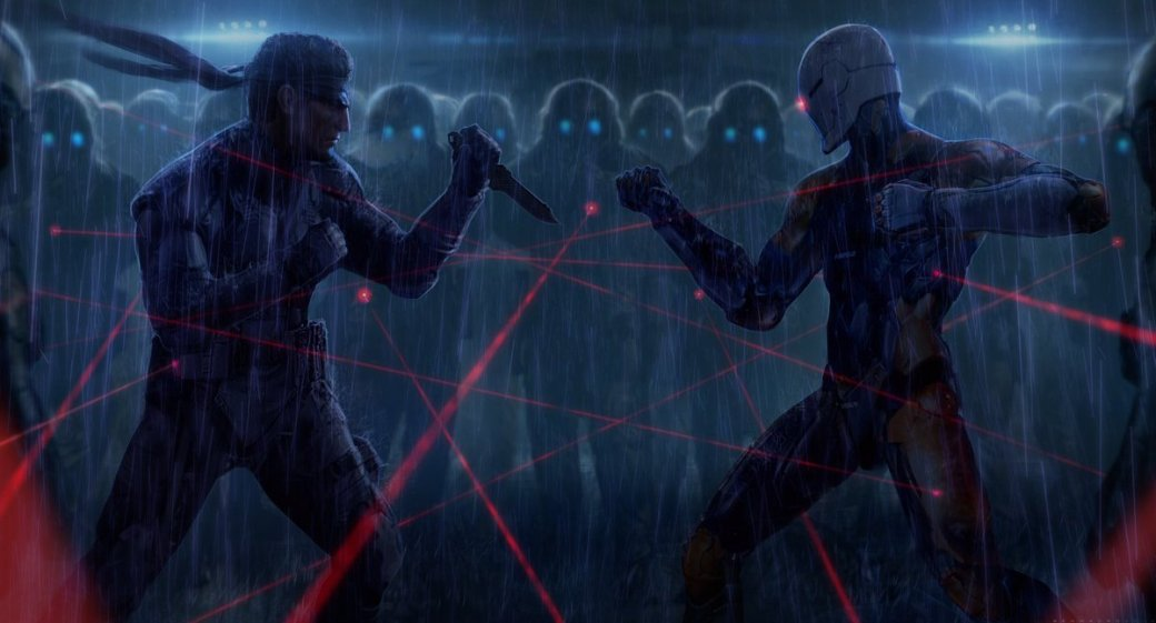 Замечательные фанарты к31-летию Metal Gear отрежиссера ееэкранизации | Канобу - Изображение 19