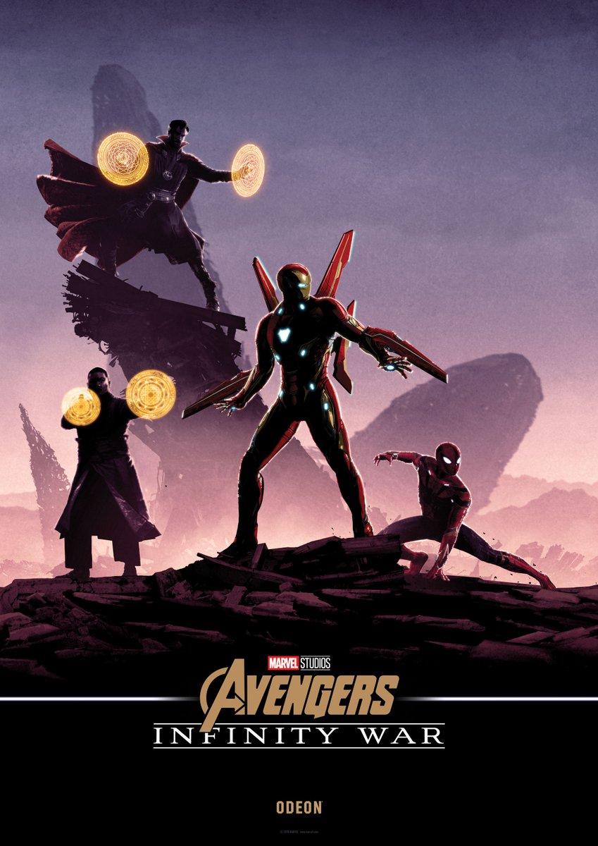 Нановых постерах «Войны Бесконечности» Мстители противостоят Таносу наруинах | Канобу - Изображение 2