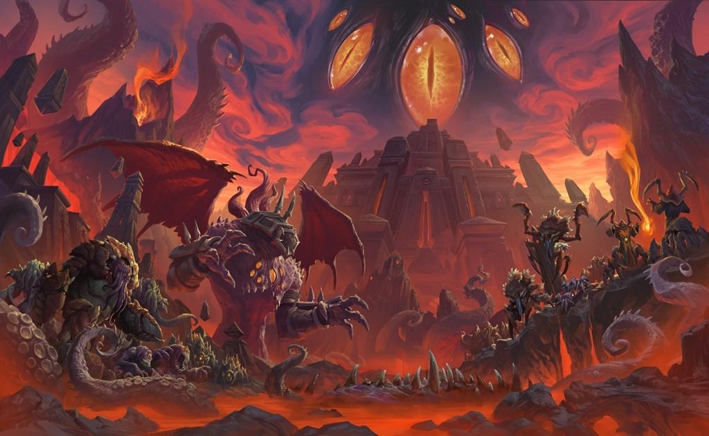 Андуин Ринн отвешивает оплеуху Гневиону в кат-сцене из патча 8.3 для World of Warcraft | Канобу - Изображение 0