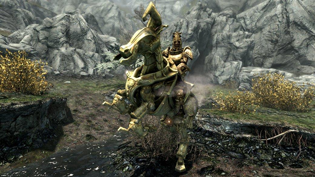 Фанатский аддон для TES V: Skyrim добавил вигру новое подземелье имеханическую лошадь | Канобу - Изображение 14011