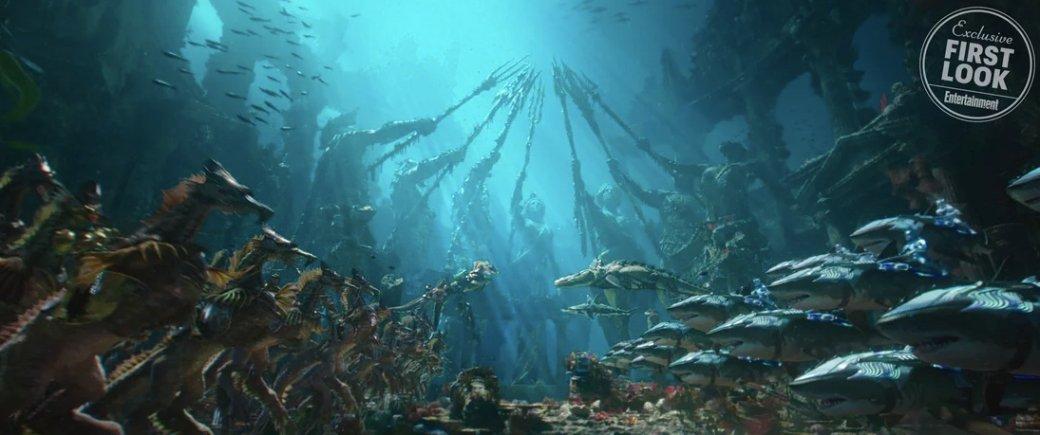 Новые кадры фильма «Аквамен» отEntertainment Weekly. Первый взгляд наключевых персонажей! | Канобу - Изображение 5