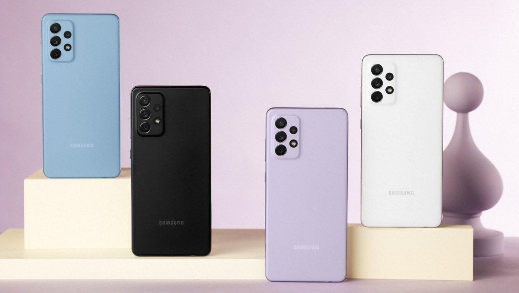 Samsung представила Galaxy A52 иA72: процессоры Snapdragon, быстрая зарядка ицены от26990 рублей