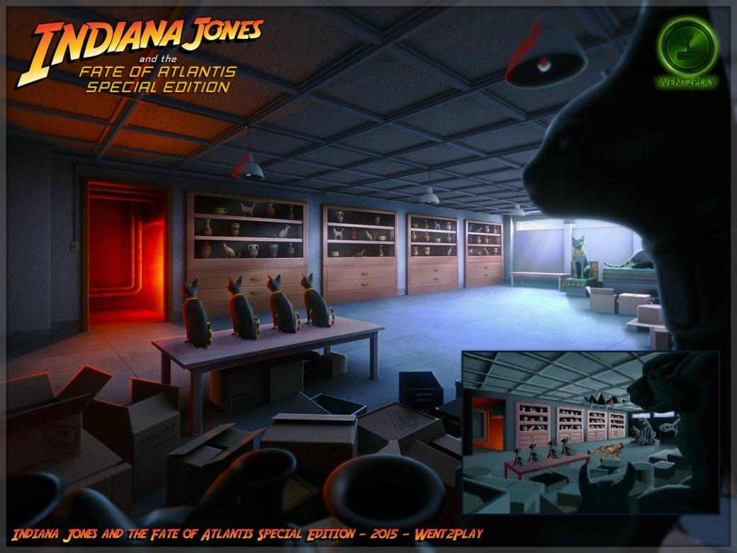 Lucasfilm попросила закрыть фанатский ремейк квеста про Индиану Джонса | Канобу - Изображение 11534