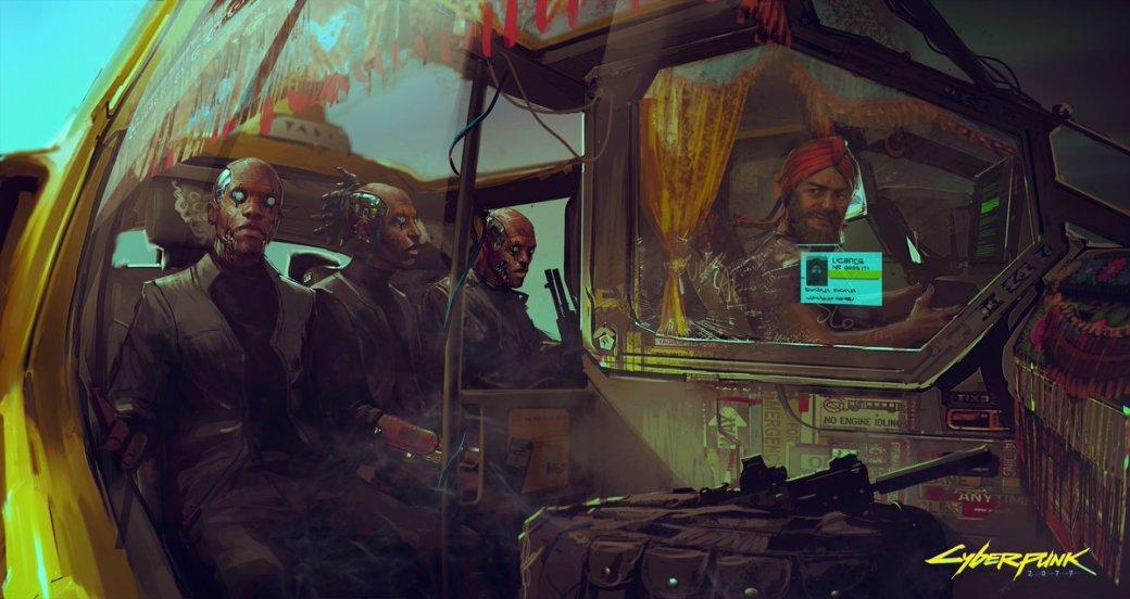 ВСети появились новые концепты Cyberpunk 2077. Фанаты тутже принялись ихрасшифровывать. - Изображение 4