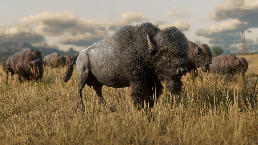 Гифка дня: бизон из другого мира вRed Dead Redemption2 | Канобу - Изображение 1