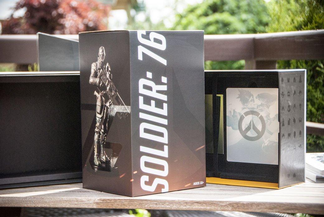 Распаковка коллекционного издания Overwatch | Канобу - Изображение 7