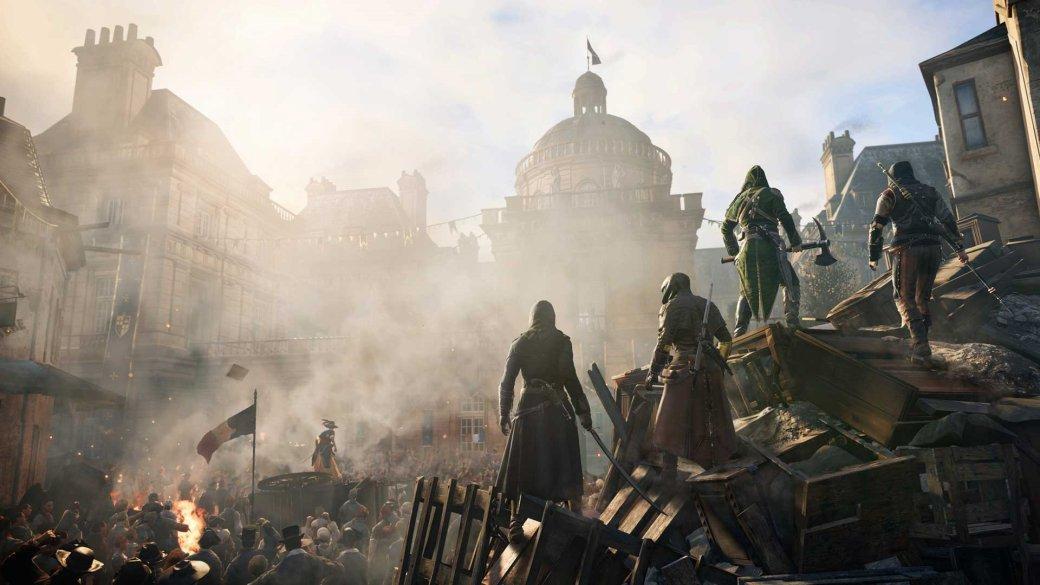Гифка дня: магия вне Хогвартса в Assassin's Creed Unity | Канобу - Изображение 1