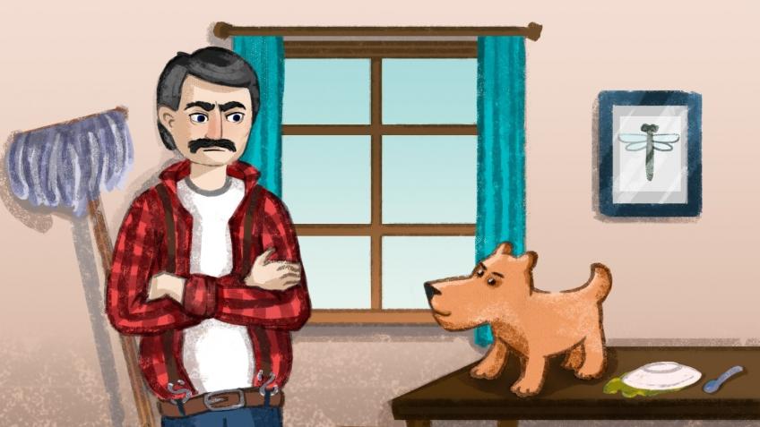 В этой мультиплеерной игре соревнуются гадящая собака и убирающий за ней хозяин. Кто победит? | Канобу - Изображение 5651