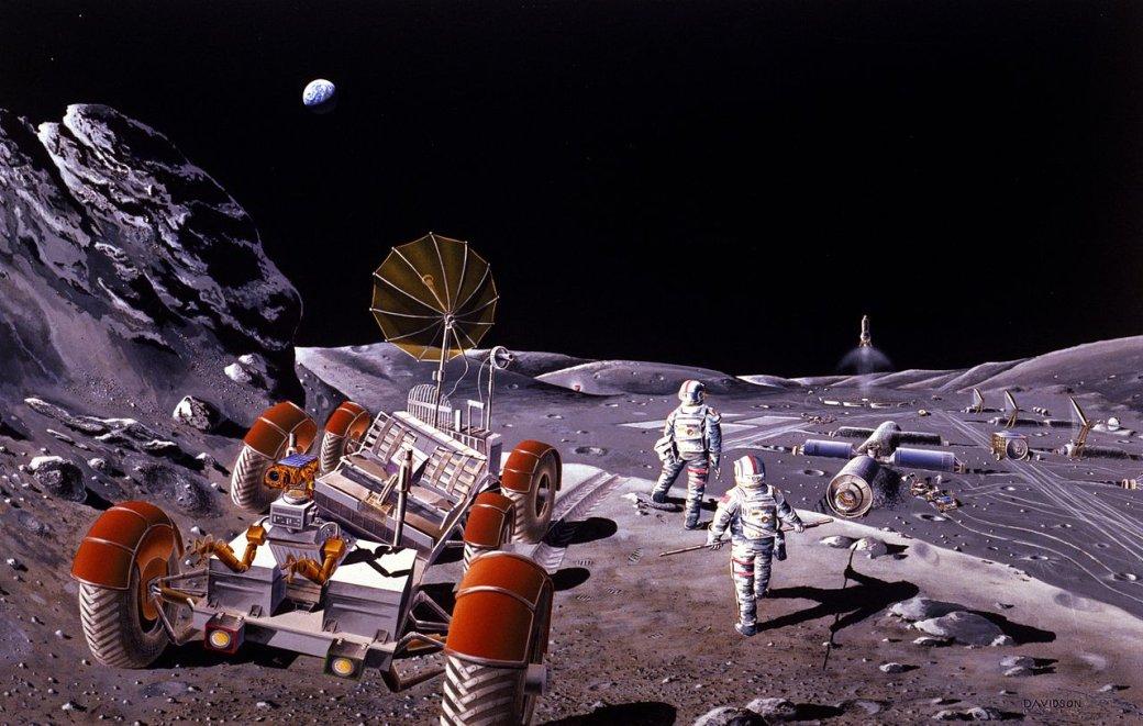 Свежие фантастические книги опокорении иисследовании Луны | Канобу