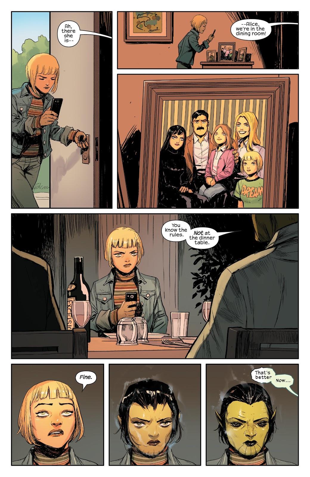 Зачем читать Meet the Skrulls? История осемье пришельцев-шпионов, скрывающихся наЗемле | Канобу - Изображение 2