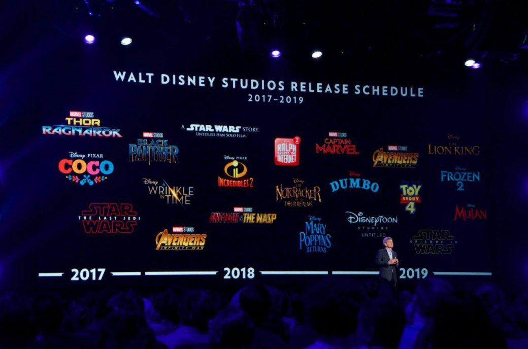 Disney фильм 2018