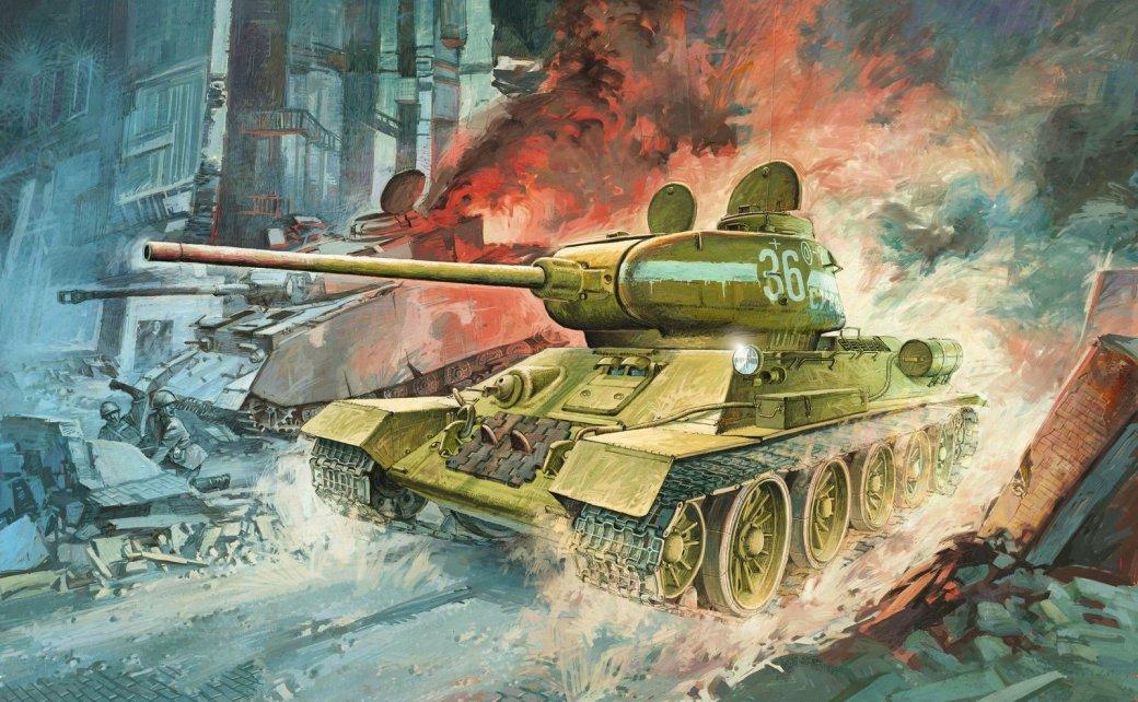 Танки и самоходные установки из World of Tanks, принимавшие участие в битве за Берлин | Канобу - Изображение 1