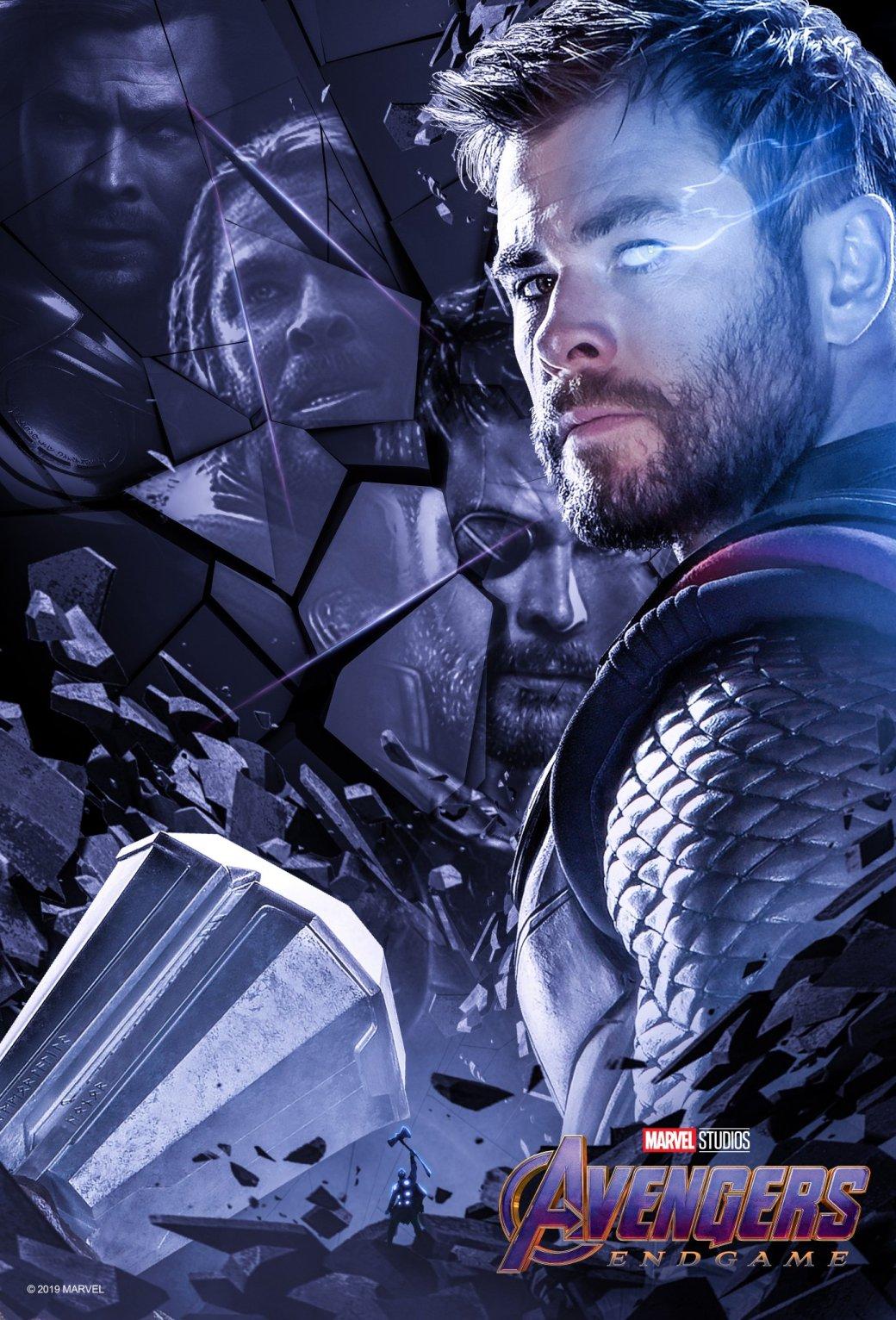 Новые постеры «Мстителей: Финал» отBossLogic посвящены долгому пути оригинальной шестерки вMCU | Канобу - Изображение 4