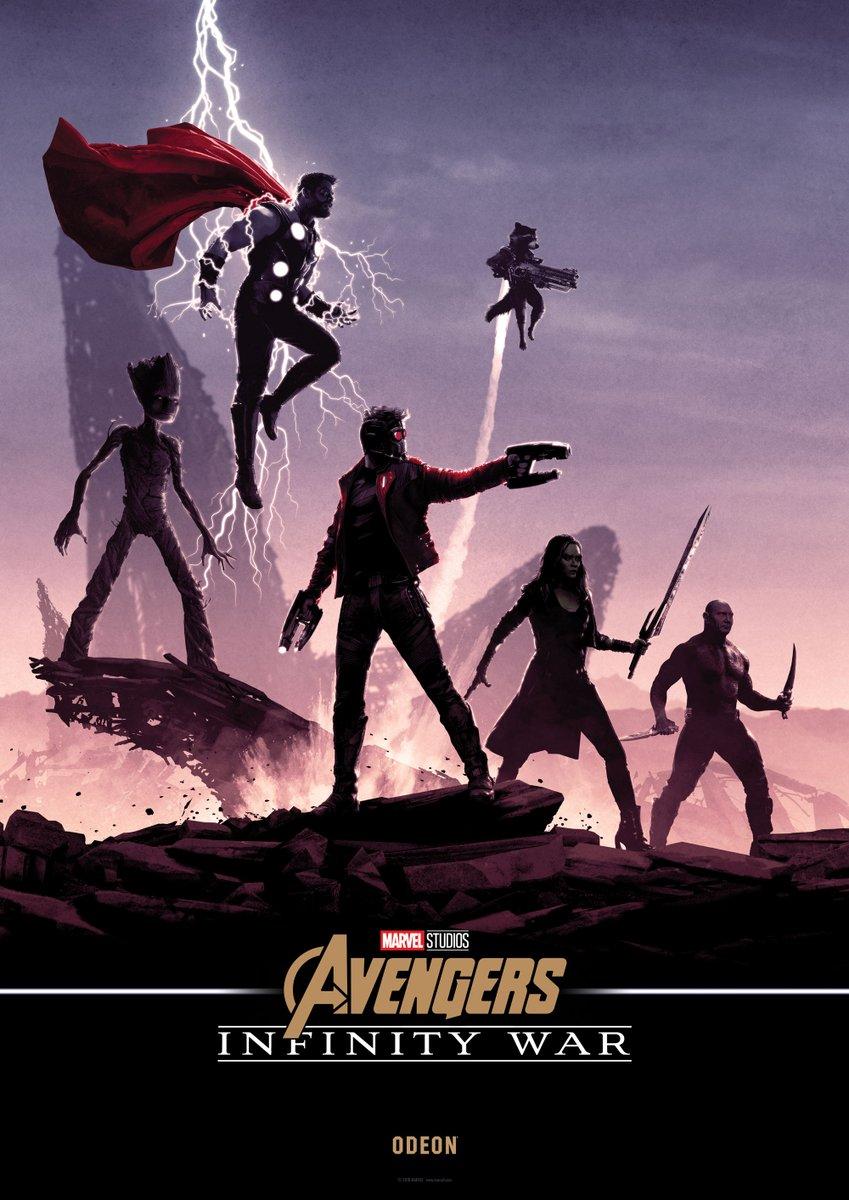 Нановых постерах «Войны Бесконечности» Мстители противостоят Таносу наруинах | Канобу - Изображение 1