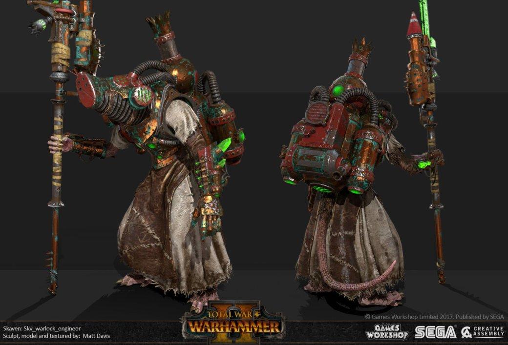 Взгляните напотрясающие концепт-арты Total War: Warhammer II. - Изображение 34