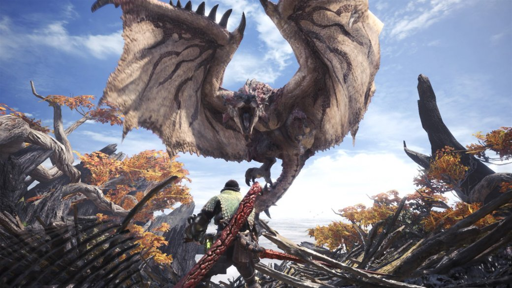 Суть. Monster Hunter: World— может, илучшая часть серии, ноэто все еще Monster Hunter | Канобу - Изображение 1