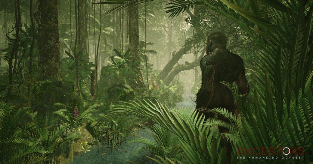Шустрые обезьяны учатся культуре нановых кадрах изAncestors: TheHumankind Odyssey Патриса Десиле | Канобу - Изображение 1