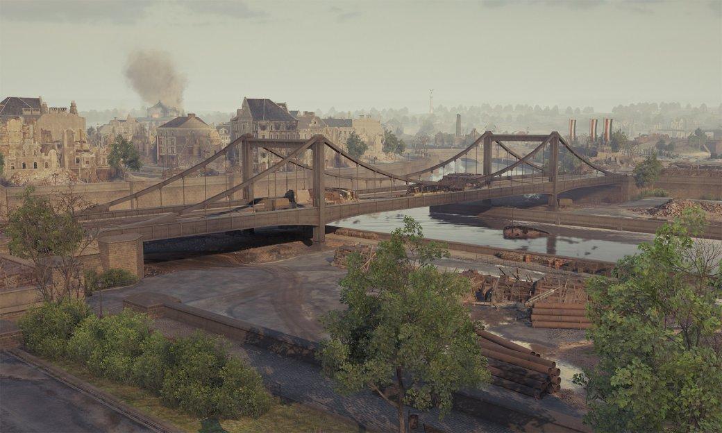 Очень хорошо получилось воспроизвести мост через южную часть гавани (Hugo Bridge), несмотря нато, что материалов для этого было нетак много.