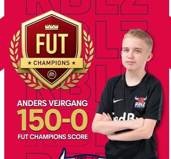 14-летний геймер набрал 150 побед подряд вFIFA21