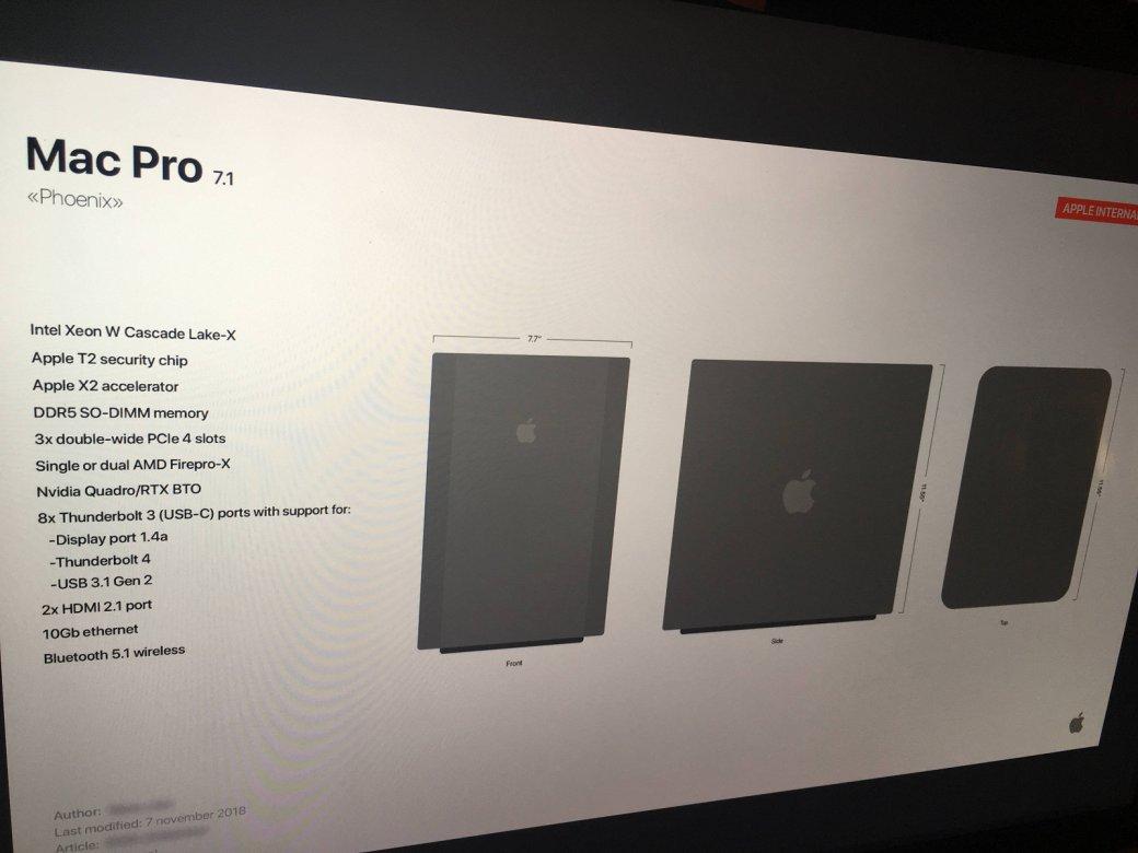 Mac Pro (2019): опубликованы первые снимки нового стационарного компьютера Apple  | Канобу - Изображение 3549