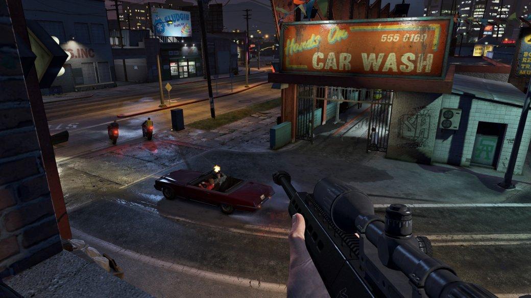 Гифка дня: слишком чистое окно вGrand Theft Auto5. - Изображение 1