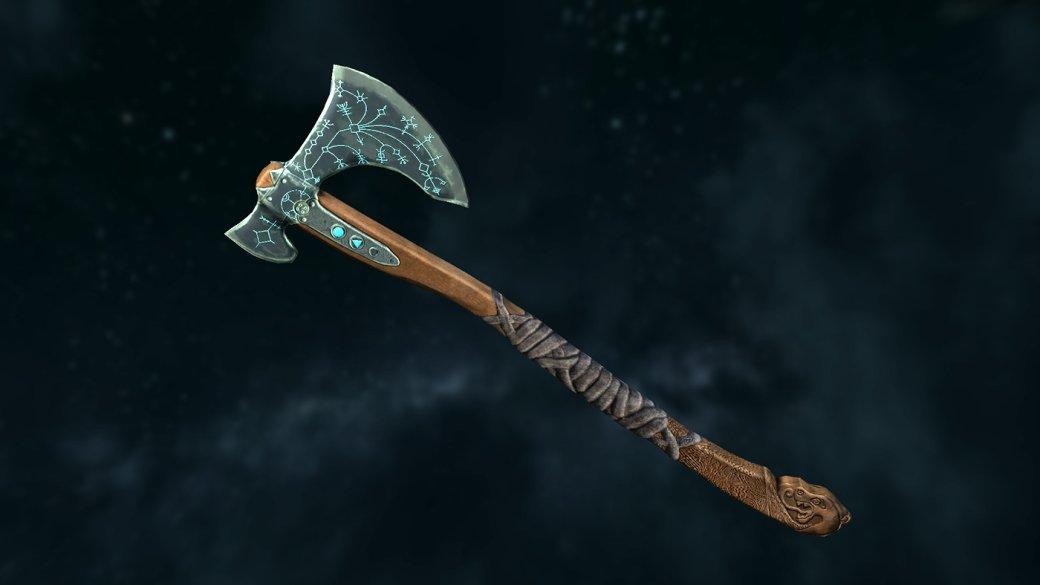 Благодаря моддерам вSkyrim появился топор Кратоса изновой God ofWar. - Изображение 1