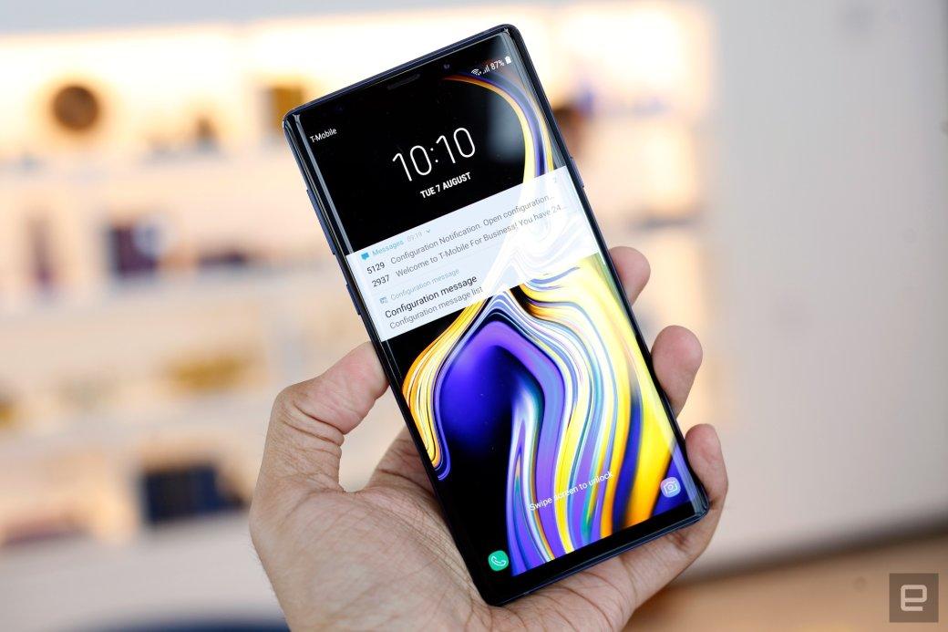 Samsung представила Galaxy Note 9 сновой камерой иобновленным пером S-Pen. - Изображение 3