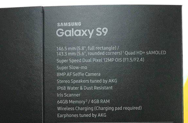 Вот это да! Galaxy S9 со сканером глаза, акустикой от AKG и переменной диафрагмой!. - Изображение 1