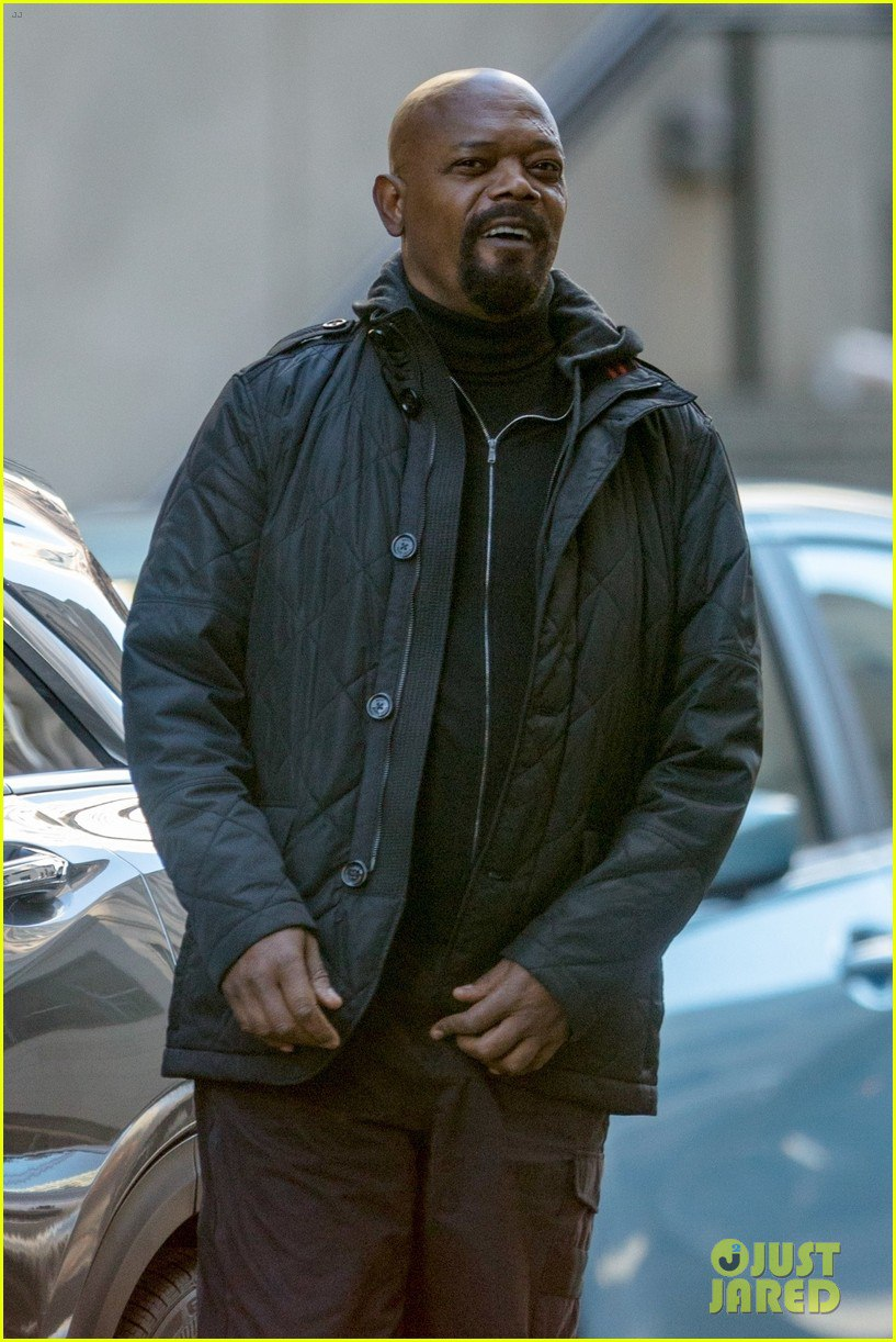 Ник Фьюри нановых кадрах сосъемок фильма киновселенной Marvel (ноникто незнает, какого именно). - Изображение 12