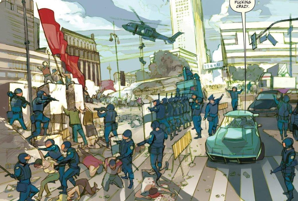 Мнение окомиксе «Последние дни американской преступности».О чем будет новый фильм Netflix | Канобу - Изображение 3432