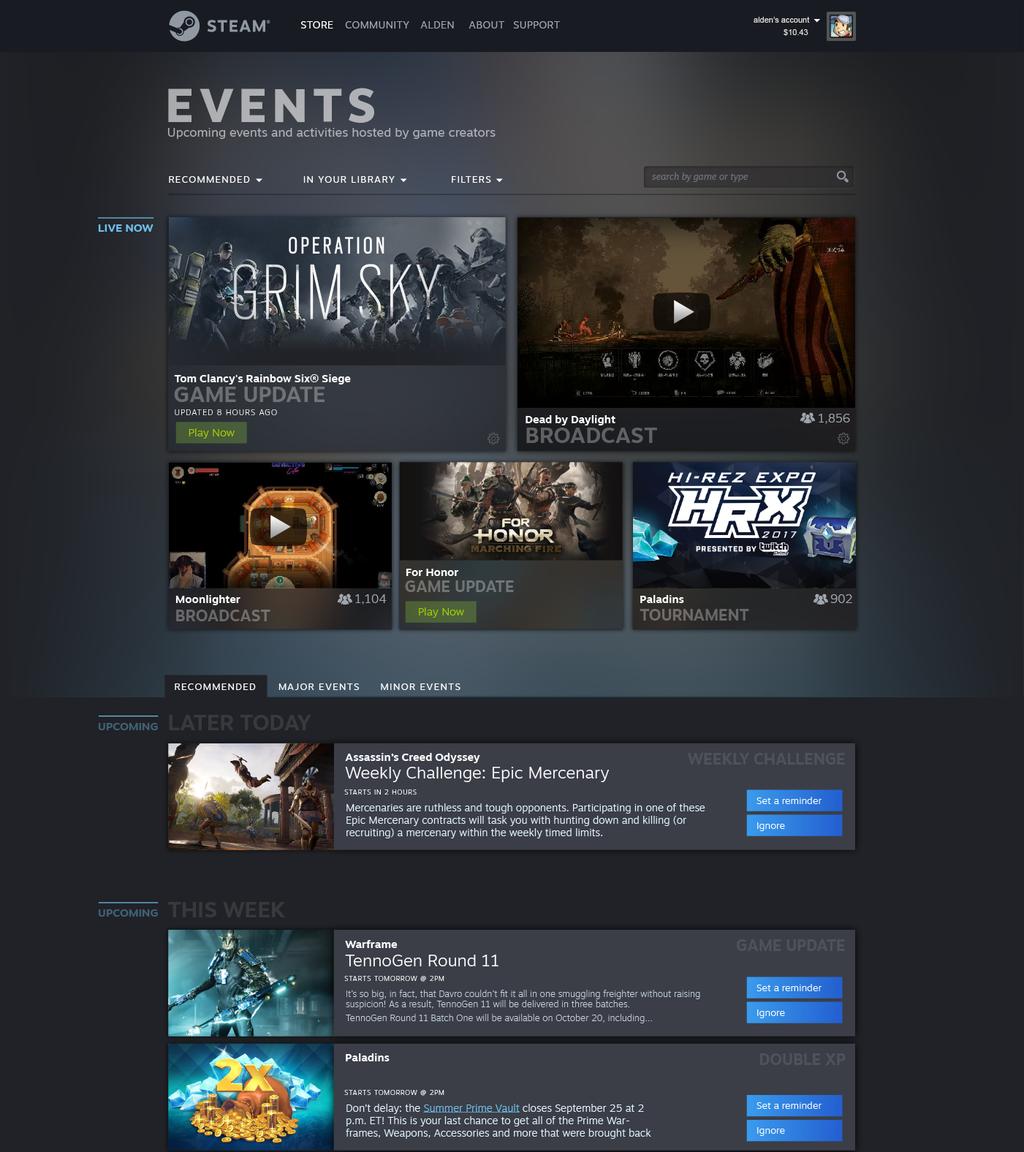 В Steam появится система событий, а внешний вид библиотеки переработают — все будет очень красиво! | Канобу - Изображение 2
