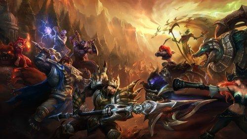 Сайт League of Legends обновился