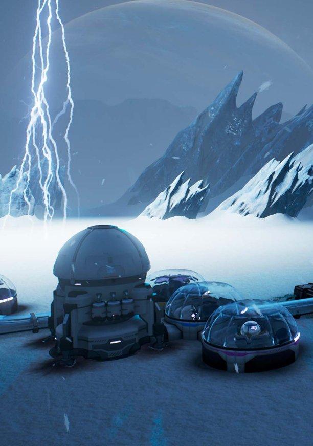 А ведь такой могла быть Mass Effect: Andromeda. Играем в Aven Colony | Канобу - Изображение 1